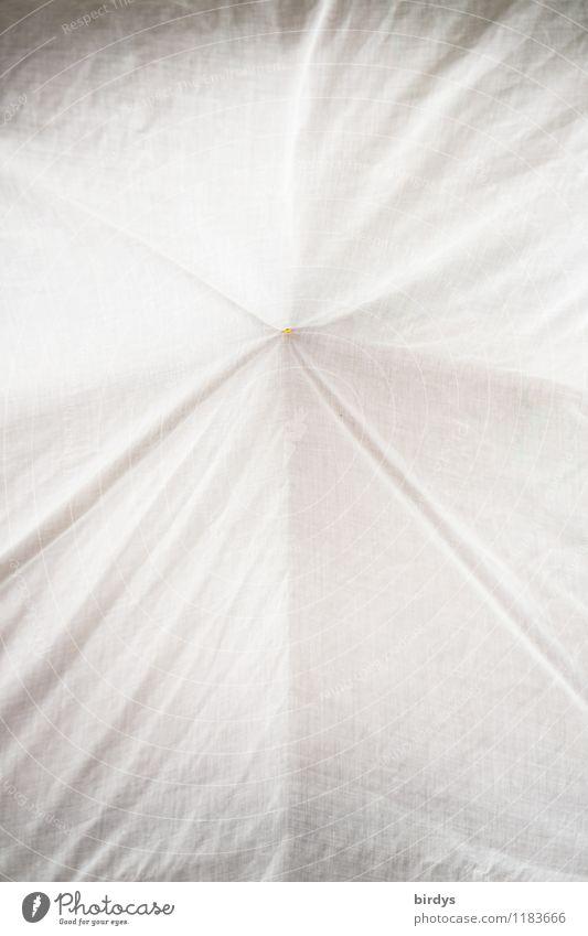 betucht Tuch Stoff Faltenwurf Kissen ästhetisch grau weiß leicht luftig weich Hintergrundbild formatfüllend Farbfoto Gedeckte Farben Außenaufnahme Innenaufnahme