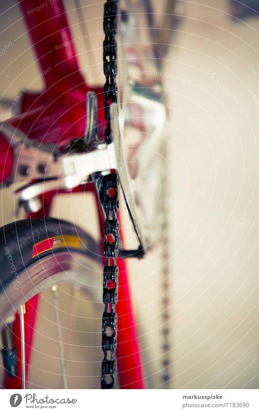 urbane mobilität - retro hipster rennrad Stadt Sommer Leben Stil Sport Gesundheit Lifestyle Design Freizeit & Hobby elegant Ausflug Fahrradfahren Fitness