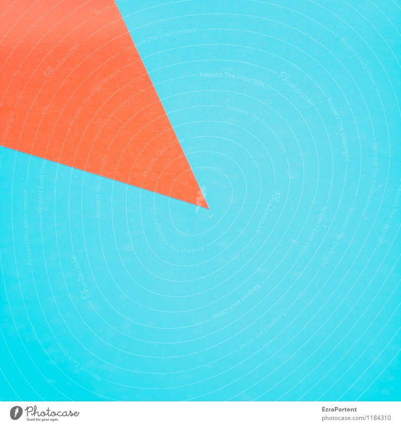 Pin it (2) Stil Design Kunst Zeichen Hinweisschild Warnschild Linie Pfeil ästhetisch hell blau rot Farbe Idee Spitze Aussage aussagekräftig Stecknadel
