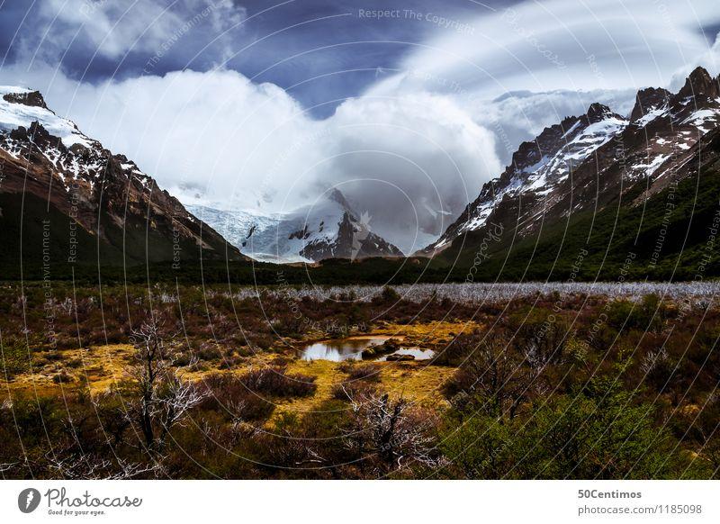 The beauty of Argentina Himmel Natur Ferien & Urlaub & Reisen Pflanze Landschaft Wolken Winter Ferne Berge u. Gebirge Herbst Schnee Tourismus Freiheit Ausflug