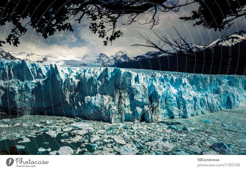 Die Schönheit von Tatagonien Ferien & Urlaub & Reisen Meer Landschaft Ferne Winter Berge u. Gebirge Schnee Freiheit See Tourismus Schneefall Eis wandern Ausflug