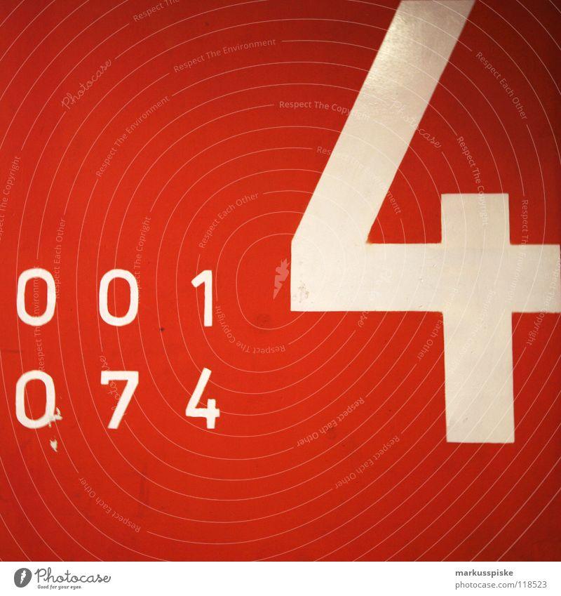 4 Parkhaus Wand Mauer Ziffern & Zahlen Typographie Schriftzeichen Text Etage KFZ Fahrzeug leer 7 Orientierung Flughafen parken blau Hinweisschild 0