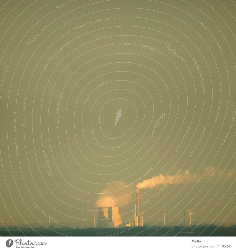 Smog Himmel Sonne Wolken Umwelt grau Beleuchtung Klima Nebel dreckig gefährlich Industrie Rauch atmen Desaster Klimawandel trüb