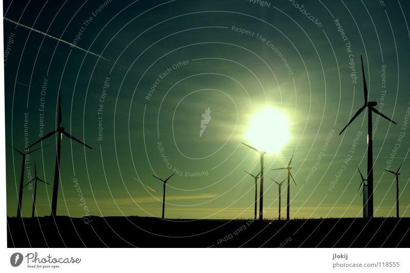 Generators VII Himmel Sonne Wiese Gras Luft Kraft Feld Industrie Energiewirtschaft Elektrizität Rasen Netz Klarheit Windkraftanlage Unternehmen drehen