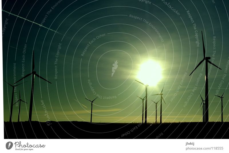 Generators VII Windkraftanlage Strömung Propeller Erneuerbare Energie Klimawandel umweltfreundlich Umweltschutz drehen Feld Elektrizität Luft Energiewirtschaft