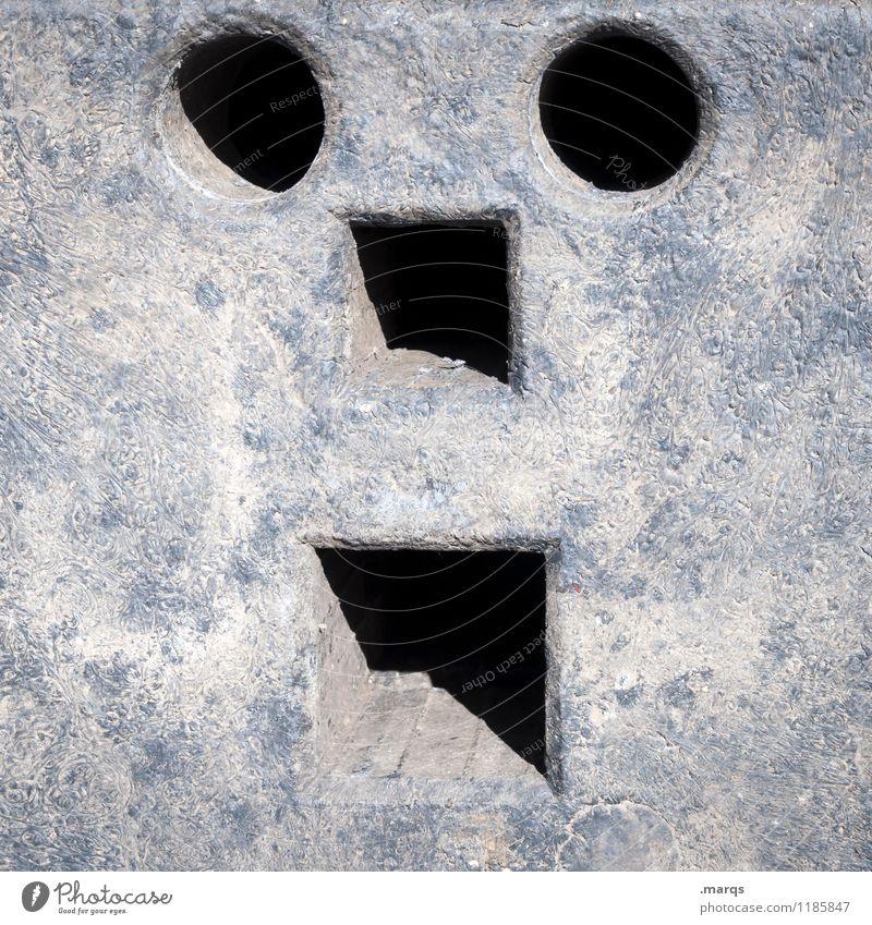 :o Gesicht lustig außergewöhnlich Kreativität einfach Baustelle Kunststoff skurril