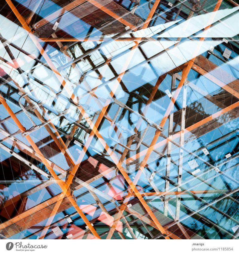 Umbau Architektur Hintergrundbild Stil Gebäude Fassade Design Linie Metall modern Glas Ordnung verrückt Perspektive Zukunft einzigartig Coolness
