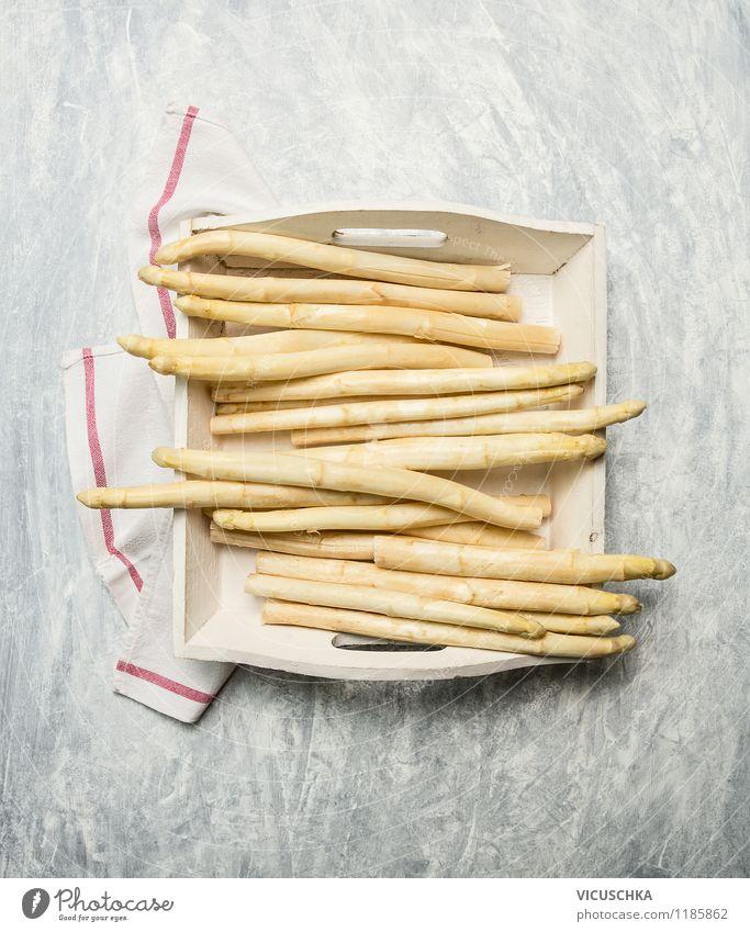 Weißer Spargel Gesunde Ernährung Leben Stil Essen Hintergrundbild Foodfotografie Lebensmittel Design Tisch Küche Gemüse Bioprodukte Geschirr Abendessen Diät