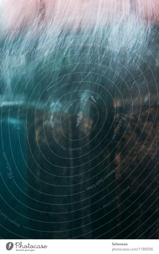 Kratzer Stein Glas Linie Streifen alt ästhetisch dunkel kaputt Farbfoto Experiment abstrakt Muster Strukturen & Formen Menschenleer Textfreiraum oben