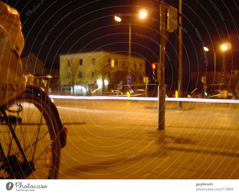 streets Nacht Licht Langzeitbelichtung Straße Mischung