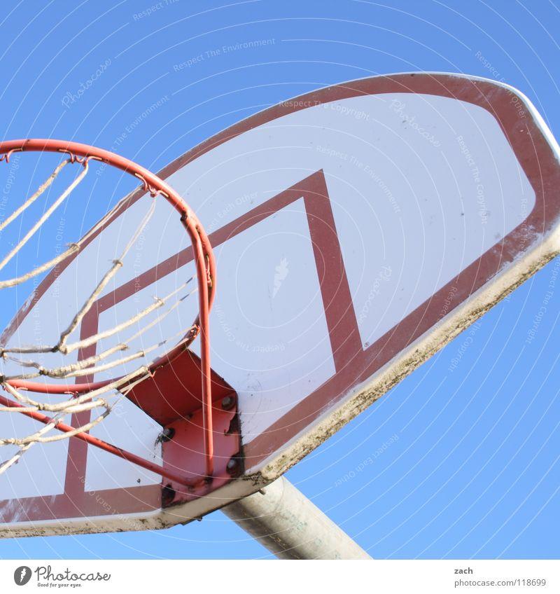 Basketcase II blau Sport Spielen Ball werfen Korb Basketball Ballsport Basketballkorb