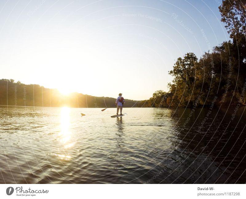 Im Rampenlicht | der Natur elegant Freude sportlich Fitness Leben harmonisch Erholung ruhig Freizeit & Hobby Ferien & Urlaub & Reisen Tourismus Ausflug Ferne