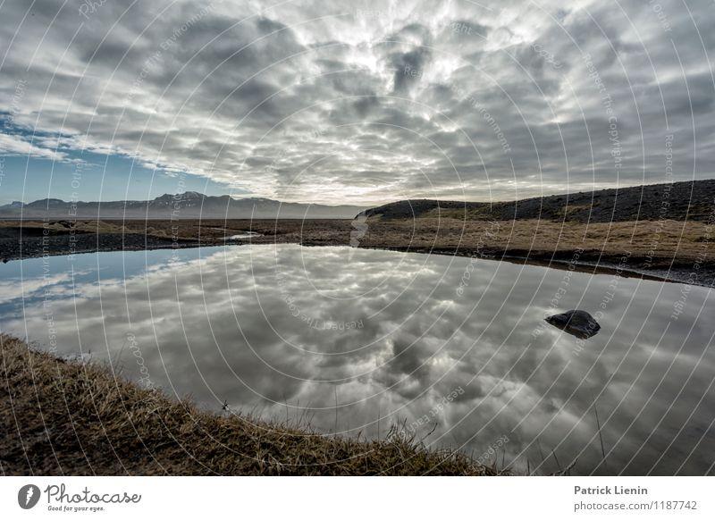 Smoke on the water Wellness Wohlgefühl Zufriedenheit Sinnesorgane Erholung ruhig Meditation Umwelt Natur Landschaft Urelemente Luft Wasser Himmel Wolken Sommer