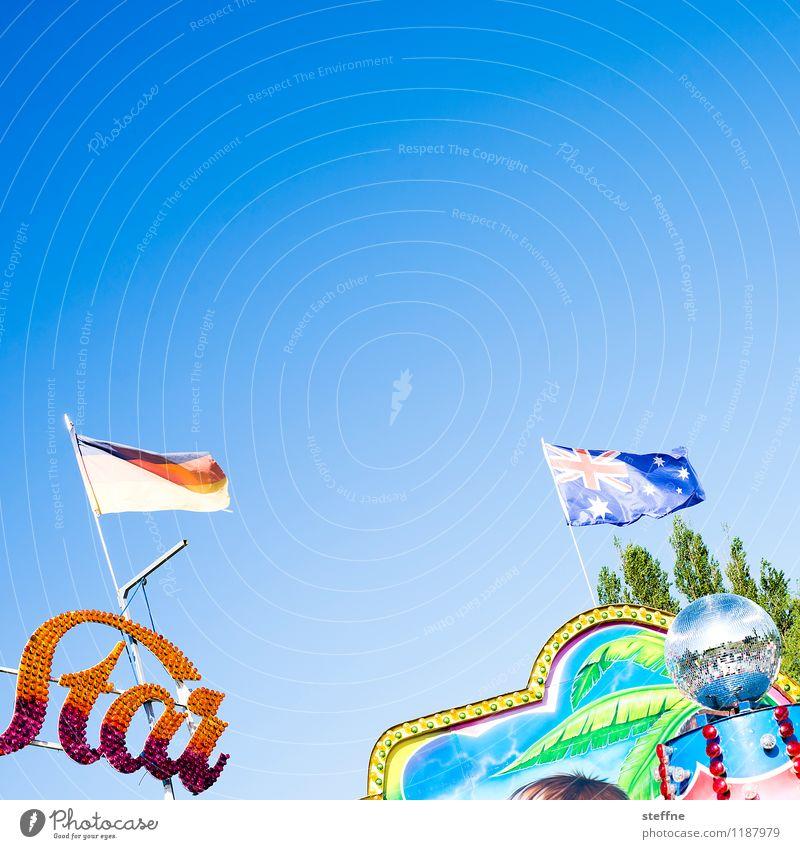 Wars Freude Feste & Feiern Freizeit & Hobby Schönes Wetter Fahne Jahrmarkt Starruhm Karussell Discokugel Gute Laune