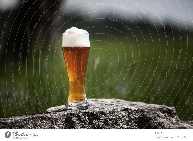 Prost Mahlzeit Lifestyle Alkohol Ferien & Urlaub & Reisen Tourismus wandern Garten Glück Zufriedenheit Lebensfreude Bier Weißbier Bayern bayerisch Weizenbier