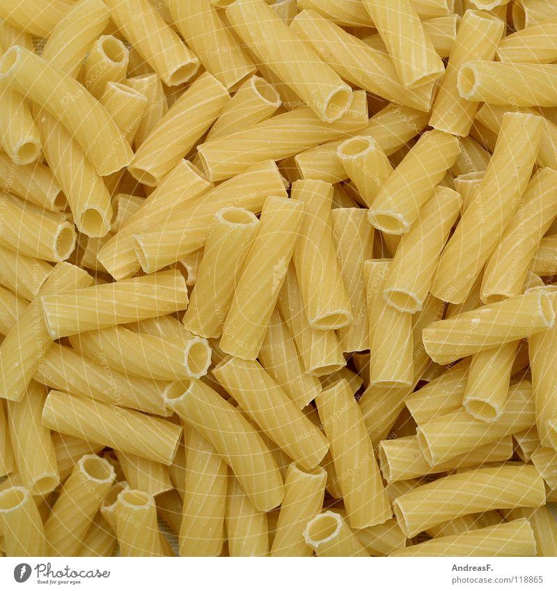 Pasta Lebensmittel Energiewirtschaft Ernährung Kochen & Garen & Backen Küche Italien Nudeln hart Teigwaren Vegetarische Ernährung roh Kohlenhydrate Dickmacher
