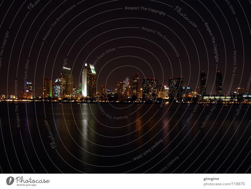 San Diego by night Stadt USA Kalifornien Himmelskörper & Weltall San Diego County