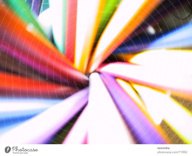 hinein mehrfarbig spektral Fototechnik Farbe