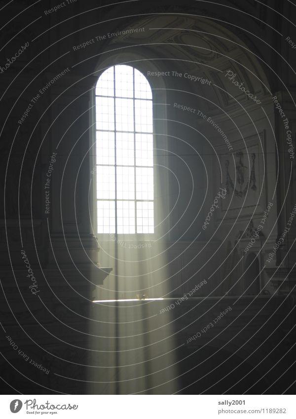 es werde Licht... Architektur Kirche Bauwerk Mauer Wand Fenster fallen außergewöhnlich fantastisch hell Kraft Religion & Glaube Lichteinfall Renaissance
