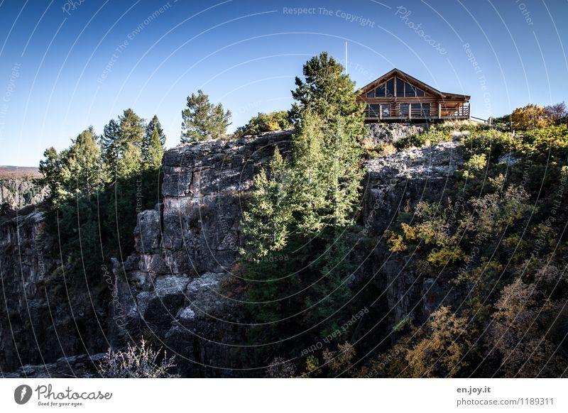 exponiert Himmel Natur Ferien & Urlaub & Reisen Sommer Baum Landschaft Haus Umwelt Herbst Felsen Tourismus Sträucher Ausflug Schönes Wetter Abenteuer USA