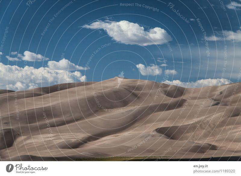 hoch, höher... Himmel Natur Ferien & Urlaub & Reisen Sommer Landschaft Wolken Ferne Umwelt Wärme Sand Tourismus Klima Schönes Wetter Abenteuer trocken USA