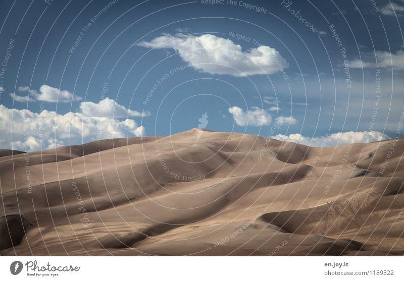 vielfältig | der Weg nach oben Ferien & Urlaub & Reisen Tourismus Abenteuer Ferne Sommer Sommerurlaub Natur Landschaft Sand Himmel Wolken Sonnenlicht Klima