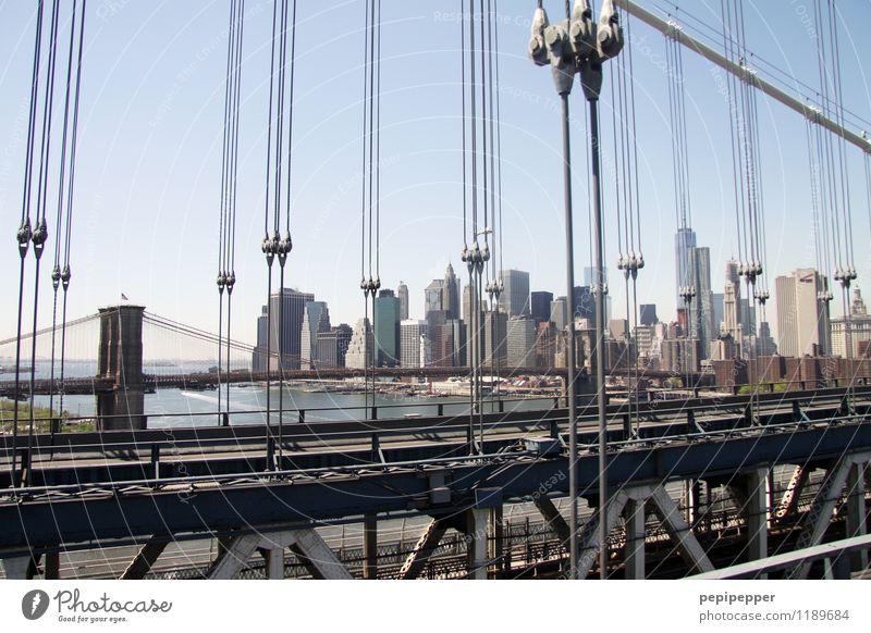 am seidenen faden Ferien & Urlaub & Reisen Tourismus Ausflug Städtereise Häusliches Leben Wohnung Haus Arbeitsplatz Wirtschaft Kapitalwirtschaft New York City