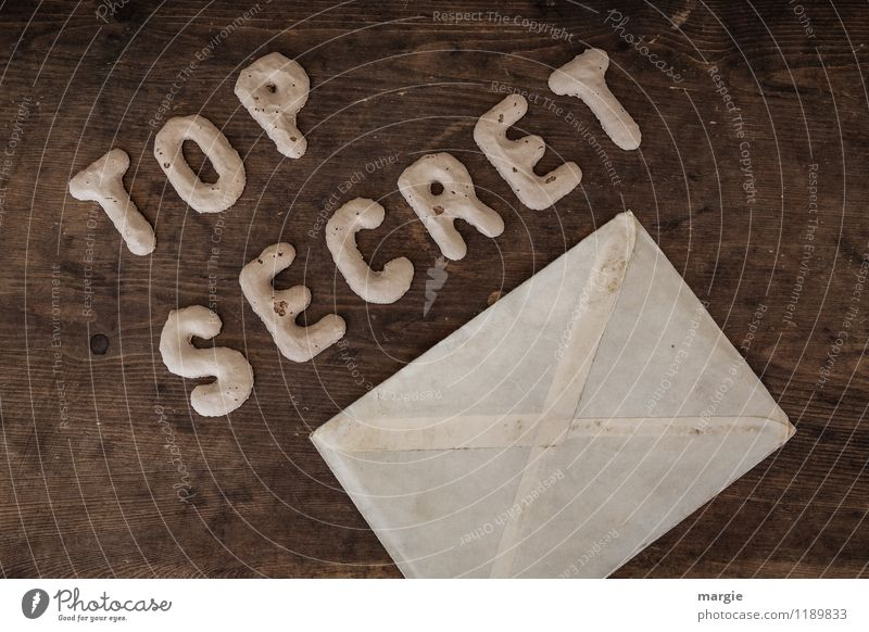 TOP SECRET III sprechen Business Büro Schriftzeichen geschlossen Kommunizieren Telekommunikation Industrie Güterverkehr & Logistik Sicherheit geheimnisvoll Team