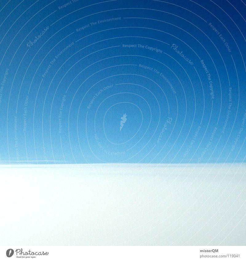 smooth cocktail sky Himmel blau weiß schön Ferien & Urlaub & Reisen Wolken ruhig Erholung dunkel oben Wege & Pfade Religion & Glaube Denken Luft 2 hell