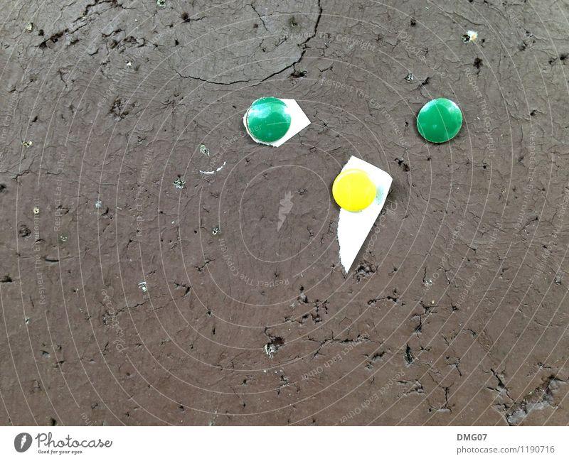 Sandmann Gesicht Kunst Frühling Sommer Herbst Winter Holz Dienstleistungsgewerbe Kork Stecknadel Pinwand Reißzwecken Papier braun grün gelb Handzettel Poster