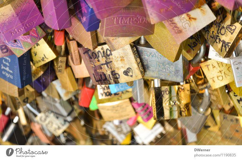 Tanja + Luis schön Freude Liebe Architektur Glück Kunst Lifestyle glänzend Freizeit & Hobby Design Dekoration & Verzierung gold Schilder & Markierungen