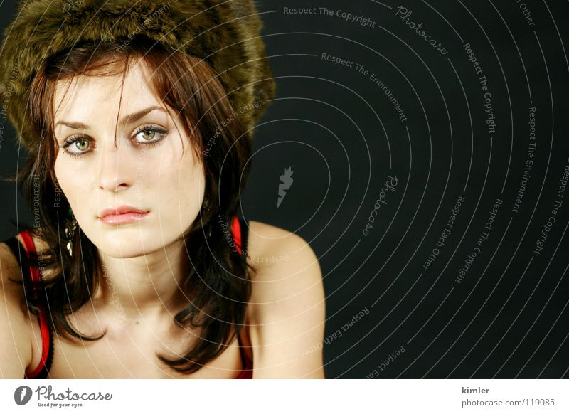 model 2 Frau Model Gesichtsausdruck neutral