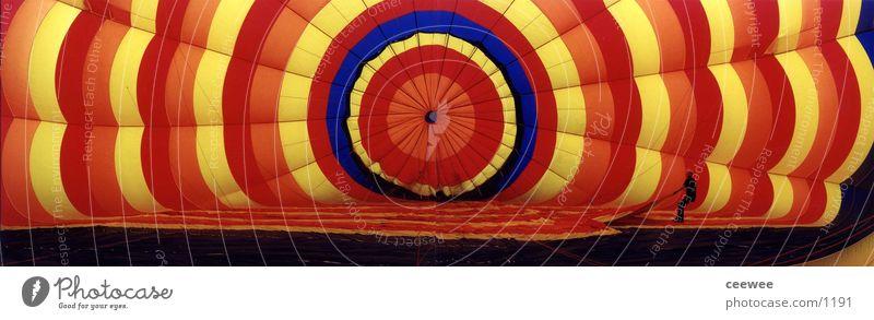 Ballon-inside Farbe Luft fahren Ballone