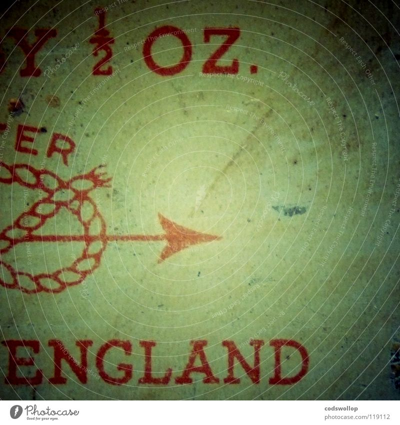 half an ounce of england rot Industrie Ziffern & Zahlen 4 Pfeil Gewicht England Hälfte Bogen Mathematik