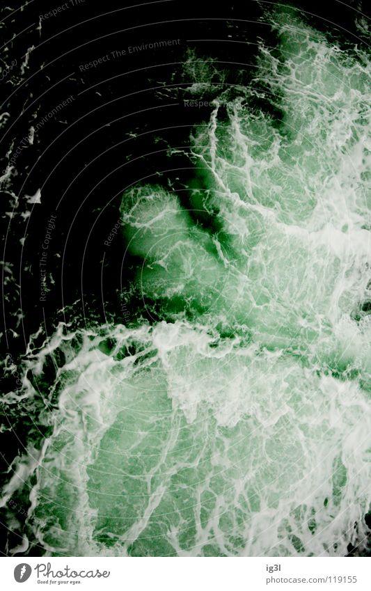 wann kommt die flut? grün dunkel Erde hell Angst Wellen Frieden Zerstörung Desaster Schaum Panik Selbstständigkeit Schicksal Erneuerbare Energie Flut