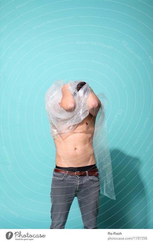 UNPACKING II Mensch Jugendliche Mann Junger Mann Erotik Freude 18-30 Jahre Erwachsene Gesundheit Mode maskulin frei Körper Kraft authentisch Erfolg