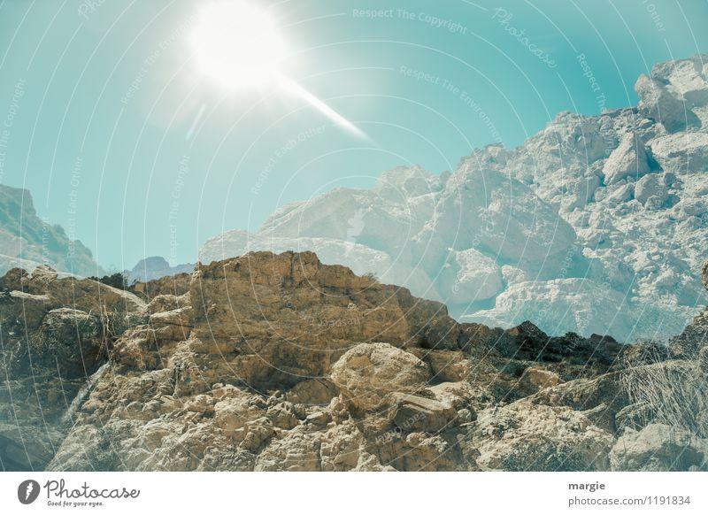 Wie ein Sonnen - Komet in den Bergen Ferien & Urlaub & Reisen Ausflug Ferne Sommer Sommerurlaub Berge u. Gebirge Natur Erde Sand Luft Wasser Himmel Klima