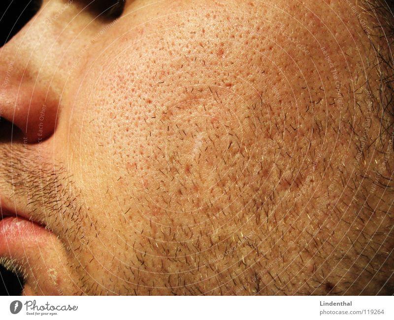 4 Tage Bart Mann Gesicht Haare & Frisuren Mund Nase 3