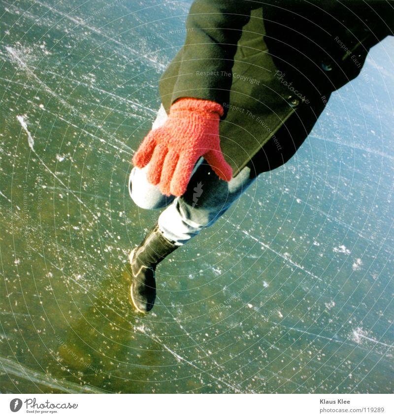 MY TRIP OVER 50 METERS ::. Wasser schön Freude Eis süß Jeanshose fallen Vertrauen Mantel Handschuhe Schwindelgefühl