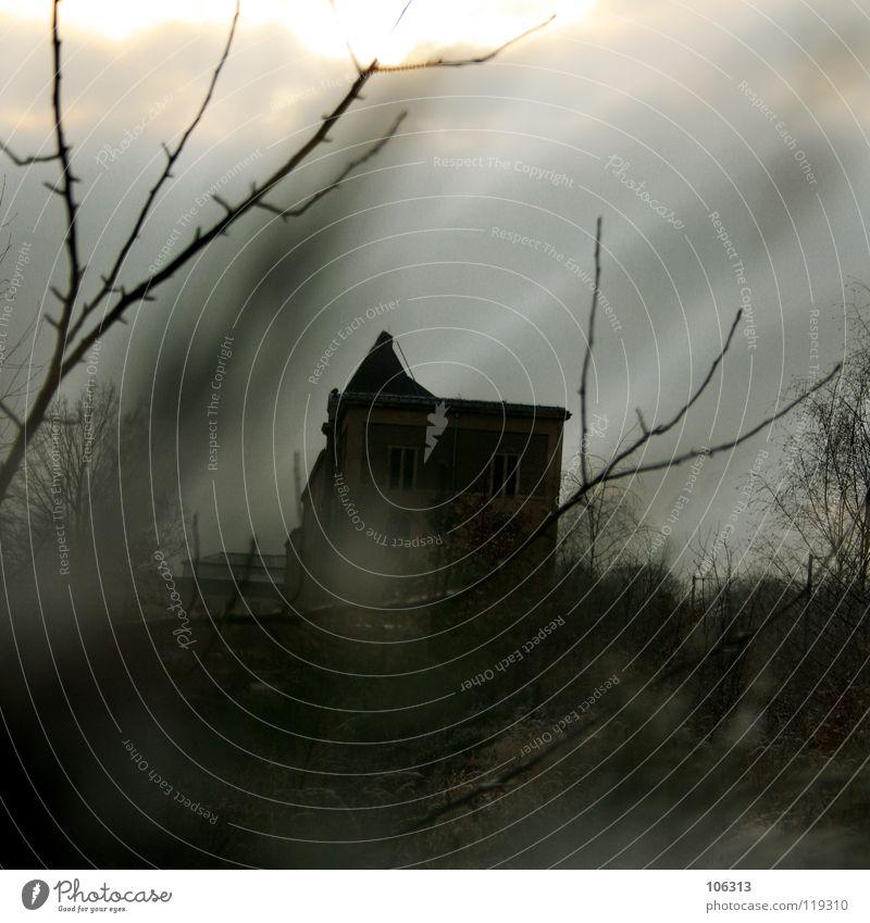 STALKER Haus spucken Geister u. Gespenster Mörder geheimnisvoll mystisch Spielplatz fremd labil gefährlich verfallen grausam Hotel Ruine Wohnung Dach Dresden