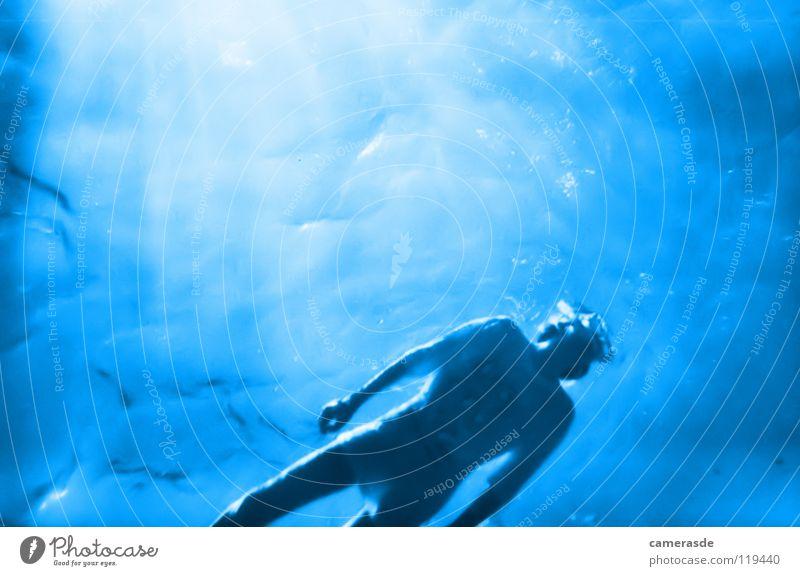 Schnorcheln Wasser Sonne Meer blau tauchen tief Wassersport Ägypten Schnorcheln