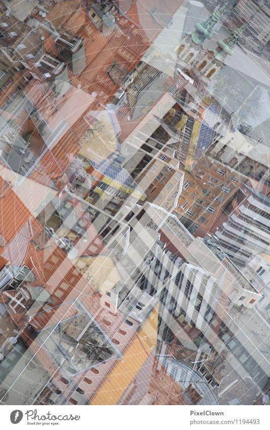 Budapest Ferien & Urlaub & Reisen Tourismus Städtereise Kunst Hauptstadt Stadtzentrum Haus Gebäude Architektur Mauer Wand Stein beobachten Blick trashig