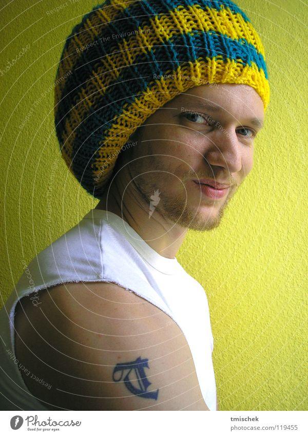 Makita Mann gelb Gleichgültigkeit Reggae