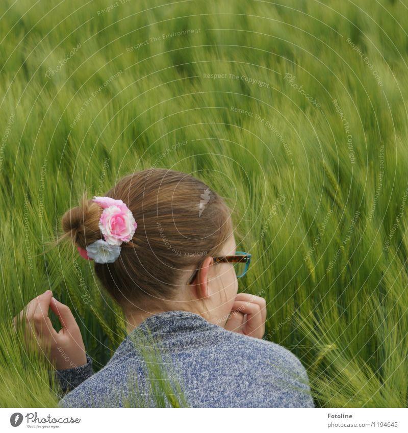 """Es ist mir eine """"Ähre"""" ;-) Mensch feminin Mädchen Junge Frau Jugendliche Kindheit Körper Kopf Haare & Frisuren Ohr Hand Finger Umwelt Natur Landschaft Pflanze"""