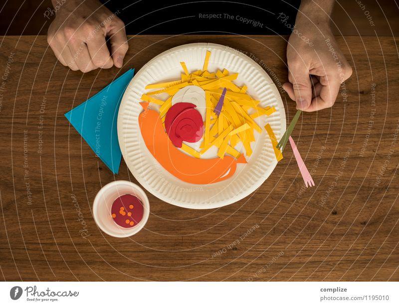 Fasten mit Fast Food Lebensmittel Fleisch Wurstwaren Ernährung Essen Abendessen Picknick Fastfood Slowfood Geschirr Gesundheit Gesundheitswesen Krankheit