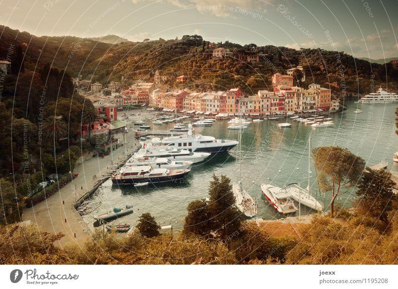 Bonzenparkplatz Ferien & Urlaub & Reisen Tourismus Städtereise Sommer Meer Landschaft Wasser Himmel Schönes Wetter Berge u. Gebirge Küste Portofino Dorf Haus