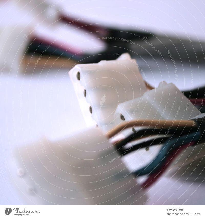 Lebensadern Elektrizität Versorgung Kabel Buchse rund Isolierung (Material) Anschluss Draht Elektrisches Gerät Technik & Technologie Energiewirtschaft atecker