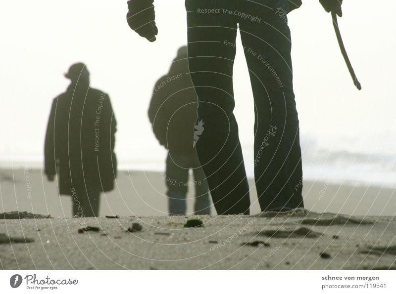 mehr ansichten Meer See Strand Sturm Spaziergang gehen sea Nordsee Wind Wasser Mensch Beine laufen