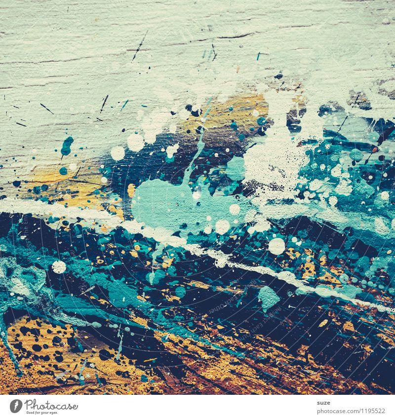 Malen ohne Zahlen Stil Design Kunst Kunstwerk Gemälde streichen ästhetisch außergewöhnlich einzigartig modern verrückt wild Toleranz chaotisch Farbe Idee