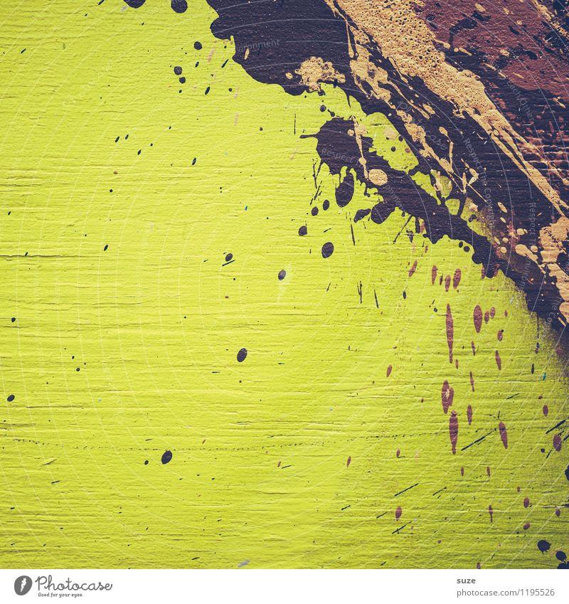 Schoko Shake Stil Design Kunst Kunstwerk Gemälde streichen ästhetisch außergewöhnlich modern verrückt wild braun grün Toleranz chaotisch Farbe Idee innovativ